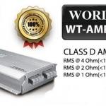 เพาเวอร์แอมป์ คลาสดี รถยนต์ WORLDTECH WT-AMP4258.25D 2500W ( ราคารวมส่ง)