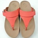 รองเท้า Fitflob Via (Nubuck) Flame สีส้ม No.FF125