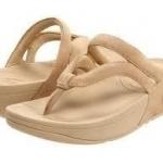 รองเท้า Fitflob Whirl Maple Sugar สีครีมอ่อน No.FF137