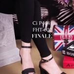 พร้อมส่ง แบบขายดี Hot Hit ตลอดจ้า Zara Style งานเหมือนShopรองเท้าส้นสูง รัดข้อสายรัดปรับระดับได้ หนังนิ่มมากๆค่ะใส่สบายไม่บาดเท้า สวมใส่ง่ายได้หลายโอกาส ส้นสูงประมาณ2.5นิ้ว