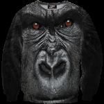 เสื้อยืดพิมพ์ลาย MR.GUGU & Miss GO : Gorilla sweater