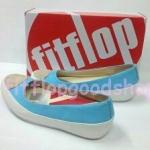 รองเท้า Fitflop Due คัชชู  สีฟ้า No.FF392