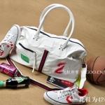 กระเป๋าผู้ชายแนวฮิปฮอป Hiphop ดีไซน์ทรงสปอร์ตแฟชั่น Sport fashion หนังแท้ แบรนด์เนม VEGOO