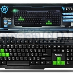 G-TECH USB Multi Keyboard GTX-8 (Green/Black)