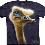 Pre.เสื้อยืดพิมพ์ลาย3D The Mountain T-shirt : Ostrich Totem