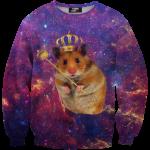เสื้อยืดพิมพ์ลาย MR.GUGU & Miss GO : King hamster sweater