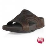 รองเท้า Fitflob Freeway for men Chocolate สีน้ำตาลเข้ม No.FF142