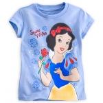 เสื้อเด็กหญิง ลายสโนไวท์ Snow White Glitter Tee for Girls(12-18month) From Disney Store USA
