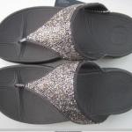 รองเท้า Fitflob Rockchic Pewter เพชรเม็ดเล็ก สีเทาดำ No.FF107