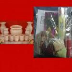 ชุดของแถมชุดบูชา กระถางธูป เชิงเทียน ถ้วยน้ำชา (ไม่รวม ก้อนเงิน ทอง ฟัก เงิน ทอง ) ให้ทุกหลังที่ซื้อ ครับ