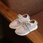 รองเท้าแฟชั่นเด็ก สีเทา ไซส์30