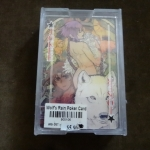 Wolfs Rain Poker Card