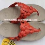 รองเท้า Fitflob Fleur Red ดอกไม้ 5 ดอก สีแดง No.FF041