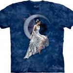 Pre.เสื้อยืดพิมพ์ลาย3D The Mountain T-shirt : Frost Moon