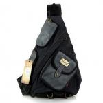 กระเป๋าแนวสตรีท Street เซอร์ๆ ลุยๆ สะพายหลัง หรือ อก รูปทรงกรวย แบบทะแยง กระเป๋ากีฬา Sport เดินทาง