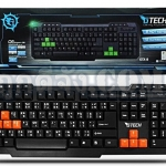 G-TECH USB Multi Keyboard GTX-8 (Orange/Black)