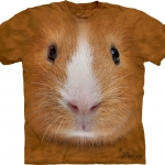 Pre.เสื้อยืดพิมพ์ลาย3D The Mountain T-shirt : Guinea Pig Face