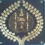 ภาพพระประจำวันเกิดปิดทองคำเปลวแท้ ขนาด 1 x 1 เมตร