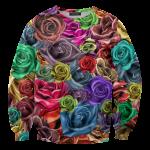 เสื้อยืดพิมพ์ลาย MR.GUGU & Miss GO : Roses sweater