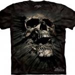 Pre.เสื้อยืดพิมพ์ลาย3D The Mountain T-shirt : Breakthrough Skul