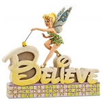 z ''Believe'' Tinker Bell Figurine by Jim Shore