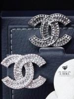 พร้อมส่ง ~ Chanel Earing งานเพชร CZ แท้ งานสวยสุดๆ แนะนำเลยค่ะตัวนี้
