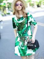 พร้อมส่ง ~ 2Sister made, Green Leaf Sparkling Lady Beauty Set
