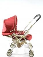 รถเข็นเด็กมือสอง Combi Cocot compact W แดง สภาพสวยมาก