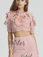 พร้อมส่ง ~ 2Sister Made, Sweet Pink Set style Premium Brand