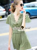 พร้อมส่ง ~ Seoul Secret Say's .... Veely Lace Nifty Lace Set