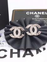 พร้อมส่ง ~ Chanel Earring งานน่ารักม้ากกกกกกกก ดีเทลเพชรละเอียด งานฝังเพชร CZ แท้
