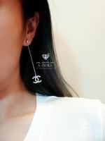 พร้อมส่ง ~ Chanel Earring ต่างหูชาแนลห้อยยาว งานน่ารักมั่กๆๆๆ