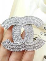 พร้อมส่ง ~ Chanel Brooch สไตร์ Logo ตัว C เล่นระดับ 3 ชั้น