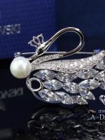 พร้อมส่ง ~ A~Dora Brand Swarovski ฺBrooch High Quality