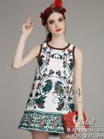 พร้อมส่ง ~ 2Sister Made, White Elegant Korea Premium Dress