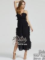 พร้อมส่ง ~ 2Sister Made, 2Sexy Lace Jumpsuit with sleeveless style