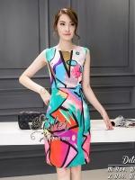 พร้อมส่ง ~ 2sister made, Deluxe Fancy Elegant Beauty Lady Dress