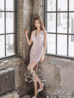 พร้อมส่ง ~ 2Sister Made, Lovely Sweet Pink Korea Dress