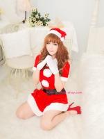 ชุดคอสเพลย์ซานต้าผู้หญิงสวยๆ