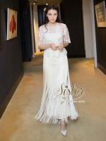 พร้อมส่ง ~ 2Sister Made, White Lace with Cuties Style