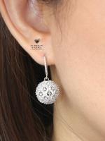 พร้อมส่ง ~ A~Dora Brand Luxury Earrings 18k CZ Diamond Zircon Drop Earrings