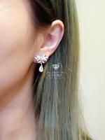 พร้อมส่ง ~ Ribbon earring อีกตัวที่ขอแนะนำ งานขายดีอมตะนิรันดร์กาล
