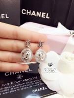 พร้อมส่ง ~ A~Dora Brand Pearl Chanel earrings Round Design Stud Earrings,Romantic Style