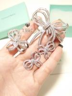 พร้อมส่ง ~ กำไล & ต่างหู & แหวน ดีไซด์โบว์น่ารักมากกก งานเพชร CZ แท้ เอาใจสาวๆ