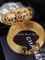 พร้อมส่ง ~ Gold Bracelet งานชุบทอง 5 ไมครอนอย่างดีค่ะ
