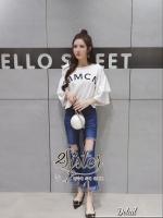 พร้อมส่ง ~ 2sister made, Lovely Korea Jeans Elegant Set