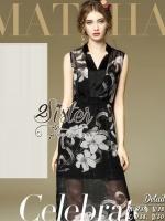 พร้อมส่ง ~ 2sister made, Black Essentials Girly Flora Dress