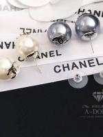 พร้อมส่ง ~ Chanel Earring ต่างหูงานมุกเคลือบหนาอย่างดีค่ะ