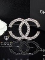 พร้อมส่ง ~ Chanel Brooch งานเกาหลี งาน Logo ตัว C สไตร์เบสิค