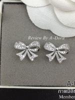 พร้อมส่ง ~ Ribbon Diamond Earring !!!!